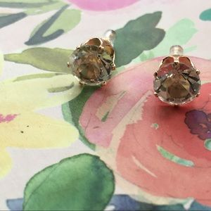 "Jewelry - FREE WITH PURCHASE ""Diamond"" studs"